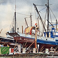 Fishing Vessel Ranger Drydock by James Williamson