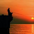 Morning Fishing 2 by Viktor Birkus