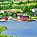Fishing Village In Prince Edward Island by Stephanie Moore