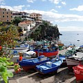 Fishing Village On The Island Of Madeira by Brenda Kean