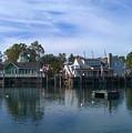 Fishing Village by Pat Turner