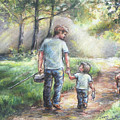 Fishing With My Dad  by Laurie Shanholtzer