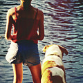 Fishing With The Pup by JAMART Photography