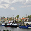 Fishingport Buesum by Christiane Schulze Art And Photography