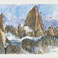 Fitz Roy, Patagonia by Judith Kunzle