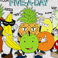 Five-a-day by Daniel Poole