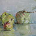Five Apples by Synnove Pettersen