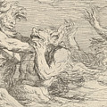 Five Battling Tritons by Salvator Rosa