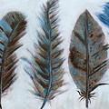 Five Feathers by Koni Webb Bosch