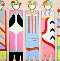 Five Flower Ladies by Kai Kingsley