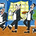 Five Italian Waiters by Gordon Wendling