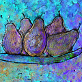 Five Pears On A Platter by Wayne Potrafka