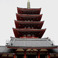 Five-storied Pagoda - Senso-ji by Perggals - Stacey Turner