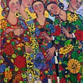 Five Women And The Iris by Marilene Sawaf