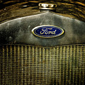 Old Ford Automobile Grill by Louis Dallara