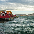 Fjallbacka Huts by James Billings