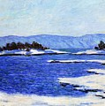 Fjord At Christiania by Claude Monet