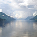 Fjord Near Hardanger Norway by Alizey Khan