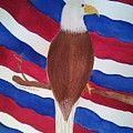 Flag And Eagle by Susan Nielsen