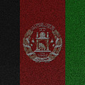 Flag Of Afghanistan by Jeff Iverson