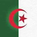 Flag Of Algeria Wall. by Roy Pedersen
