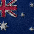 Flag Of Australia by Jeff Iverson