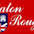 Flag Of Baton Rouge by Bert Mailer