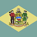 Flag Of Delaware by Bigalbaloo Stock