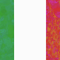 Flag Of Italy Colorful by Roy Pedersen