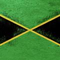 Flag Of Jamaica Grunge by Roy Pedersen