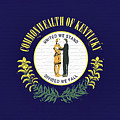 Flag Of Kentucky Wall by Roy Pedersen