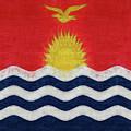 Flag Of Kiribati Texture by Roy Pedersen
