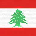 Flag Of Lebanon Wall by Roy Pedersen