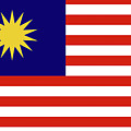 Flag Of Malaysia. by Roy Pedersen