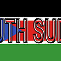Flag Of  South Sudan Word by Roy Pedersen