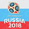 Flag Russia World Cup by Bung Dano