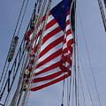 Flag Tall Ship by Carol Komassa