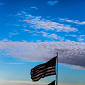 Flag With The Clouds by Victory  Designs