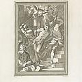 Flagellation Of A Saint by Andrea Scacciati After Giovanni Battista Paggi