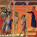 Flagellation Of Christ 1311 by Duccio