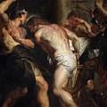 Flagellation Of Christ 2 Peter Paul Rubens by Eloisa Mannion