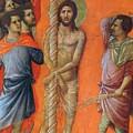 Flagellation Of Christ Fragment 1311 by Duccio