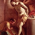 Flagellation Of Christ by Pietro Bardellini
