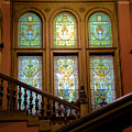 Flagler College Stained Glass by Larry Jones