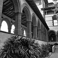Flagler College Walkway by Larry Jones