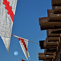 Flags At The Palace Of Governors by Stuart Litoff