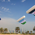 Flags Over Doha by Paul Cowan
