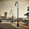Flagship Wharf - Boston Harbor by Joann Vitali