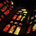 Flamboyant Stained Glass Window by Georgia Mizuleva