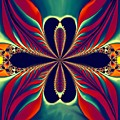 Flame Blossom by Sandra Bauser Digital Art